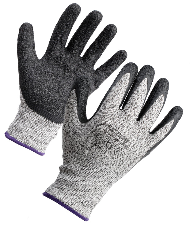 Xscape Gristle Latex Coated Cut Resistant Glove  Level 5