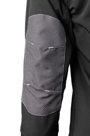 Padded elbow on the Dymaflex Cut Resistant Jacket in black