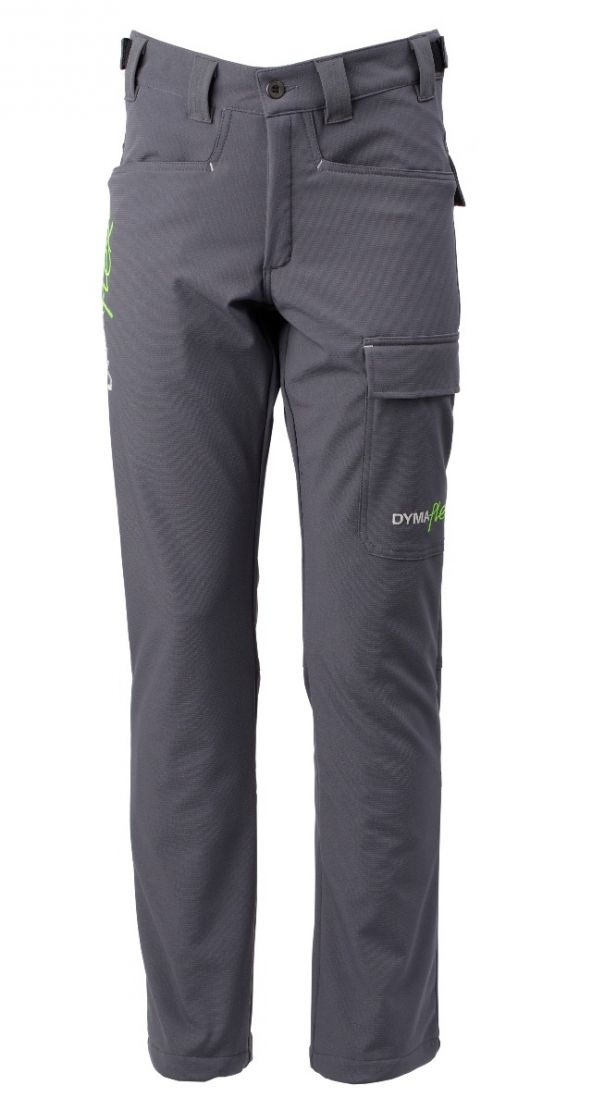 Dymaflex Cut-Resistant Trousers - Grey Front View