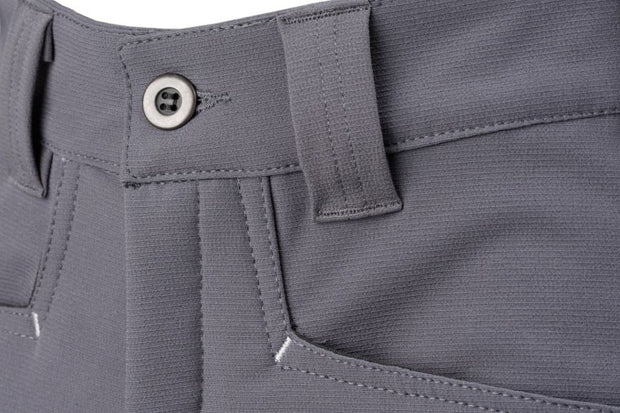 Dymaflex Cut-Resistant Trousers - Grey. Front Pockets