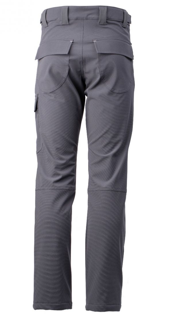 Dymaflex Cut-Resistant Trousers - Grey. Rear View