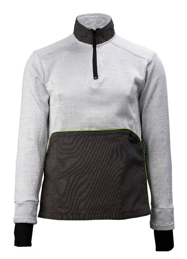 Front view of the cut resistant Dymaflex Sweatshirt