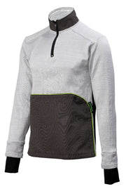 Side view of the cut resistant Dymaflex Sweatshirt