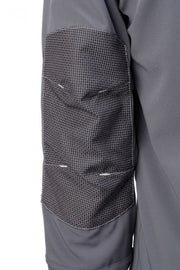 elbow patch of C606 Dymaflex Jacket Sports Grey
