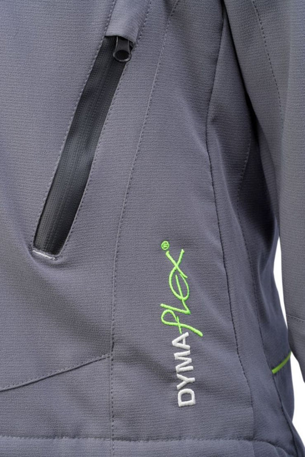 zip view of C606 Dymaflex Jacket Sports Grey
