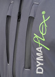 Front view of C606 Dymaflex Jacket Sports Grey