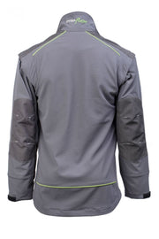 rear view of C606 Dymaflex Jacket Sports Grey