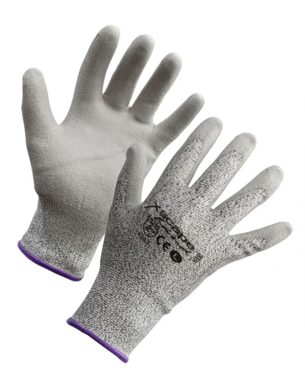 Xscape Cut Resistant Glove PU Coated Level 3