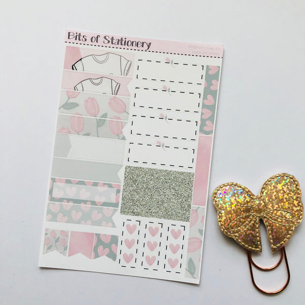 Mother's Day ADD ON SHEET hand drawn planner stickers
