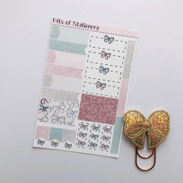 Winter vibes ADD ON SHEET hand drawn planner stickers