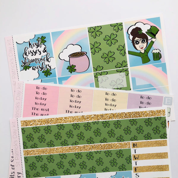 St Patrick's day mini kit *Add on sheet available*