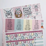 Easter bunny mini kit *Add on sheet available*