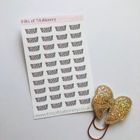 Laundry basket v2 hand drawn planner stickers