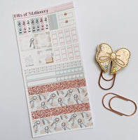 Moving House hobonichi weeks kit hand drawn planner stickers