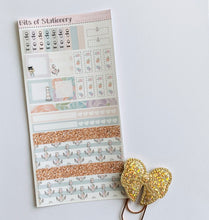Load image into Gallery viewer, Nautique Dreams hobonichi weeks kit hand drawn planner stickers