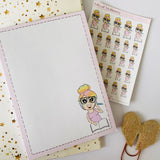 Bits of Stationery Exclusive A6 Notepad