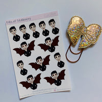 Lucifer planner stickers hand drawn
