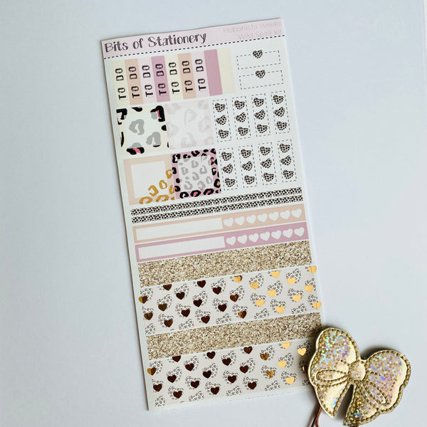 Wild Spirit hobonichi weeks kit hand drawn planner stickers