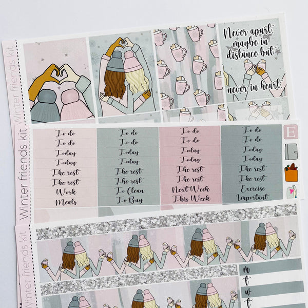 Winter friends kit *Add on sheet available*