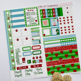When Christmas means more hobonichi weeks kit hand drawn planner stickers