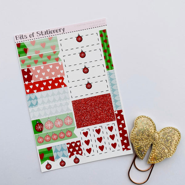 Christmas means more ADD ON SHEET hand drawn planner stickers