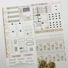 Load image into Gallery viewer, Start a fresh hobonichi weeks kit hand drawn planner stickers