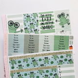 Fannie the Frog leap year mini kit *Add on sheet available*