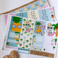 Holiday girl mini kit *Add on sheet available*