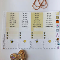 Bee girl mini kit *Add on sheet available*
