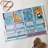 Mermaid girl mini kit *Add on sheet available*