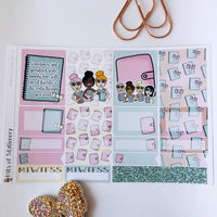 Planner meet girl mini kit *Add on sheet available*