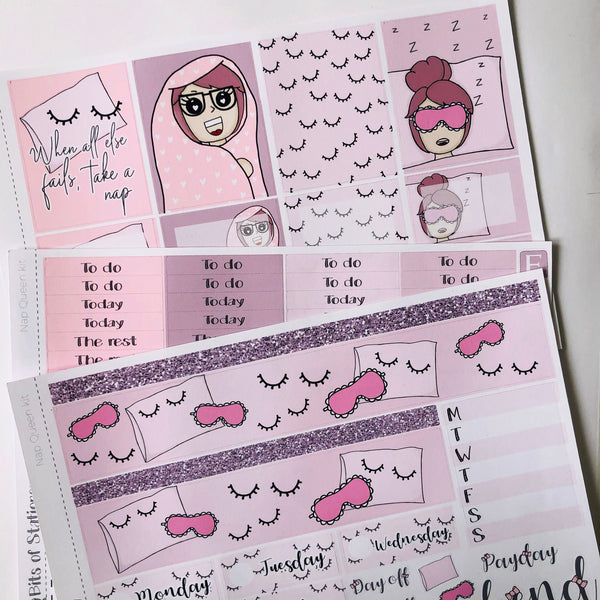 Nap queen mini kit *Add on sheet available*