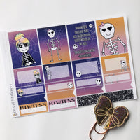 Halloween girl mini kit *Add on sheet available*