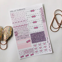 Nap queen ADD ON SHEET hand drawn planner stickers