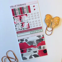 Poppy hobonichi weeks kit hand drawn planner stickers