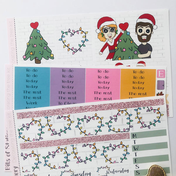 Decorating the tree mini kit *Add on sheet available*
