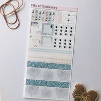 Nellie's tangle hobonichi weeks kit hand drawn planner stickers