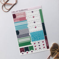 Filthy animal ADD ON SHEET hand drawn planner stickers