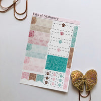 Bear ADD ON SHEET hand drawn planner stickers