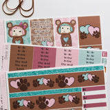 Bear mini kit *Add on sheet available*