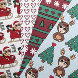 Bits of Stationery Exclusive A5 Christmas paper and vellum pack