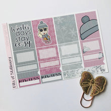 Load image into Gallery viewer, Winter girl mini kit *Add on sheet available*