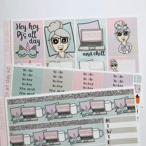 Pj's all day mini kit *Add on sheet available*