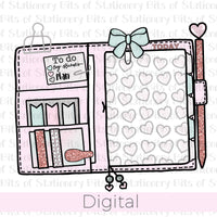 Heart planner DIGITAL