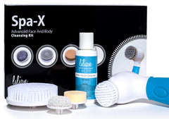 Spa-X Advanced Waterproof Facial & Body Cleansing Massager with Facial Cleansing Cream