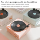 B10 Atomic Bluetooth Speakers Retro Vinyl Player Desktop Wireless Creative Multifunction Mini Stereo Speakers