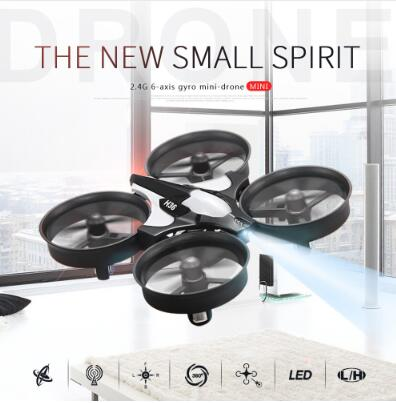 JJRC H36 Micro Mini Drones Quadcopters Headless Mode Racing Drone Professional One Key Return RC Helicopter Toys