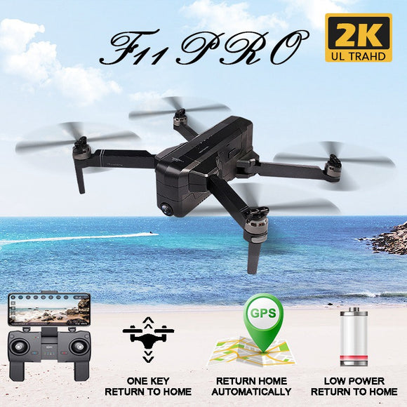 SJRC F11 PRO GPS 5G Wifi 500m FPV 1080P 2K Wide Angle Camera Brushless Foldable RC Quadcopter