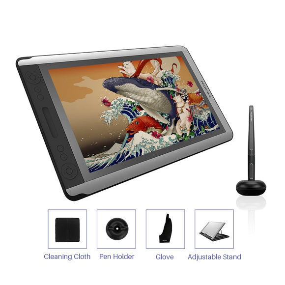 HUION KAMVAS GT-156HD V3 (Kamvas 16) Pen Display 15.6 inch Digital Graphics Drawing Tablet
