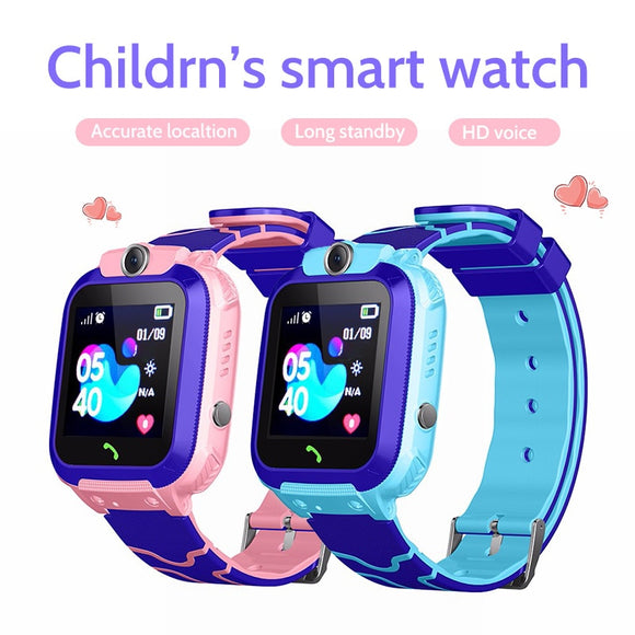 Kids Smart Watch Phone Waterproof Children LBS Location 2G SIM Card SOS Call Boys Girls for Android IOS